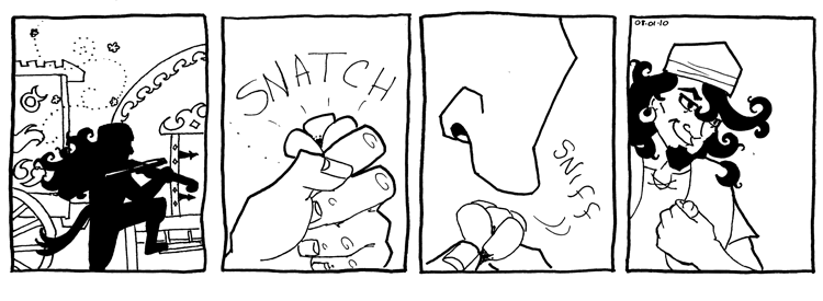 Snatch and Sniff